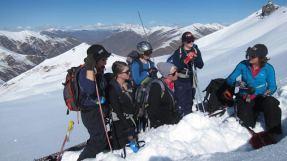 snow pit Laetitia