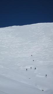 fresh tracks Treble Cone backcountry ski touring Mission WOW women