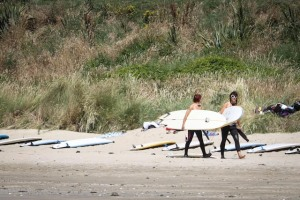 beach alk beach training Mission WOW women's getaway Catlins Surf